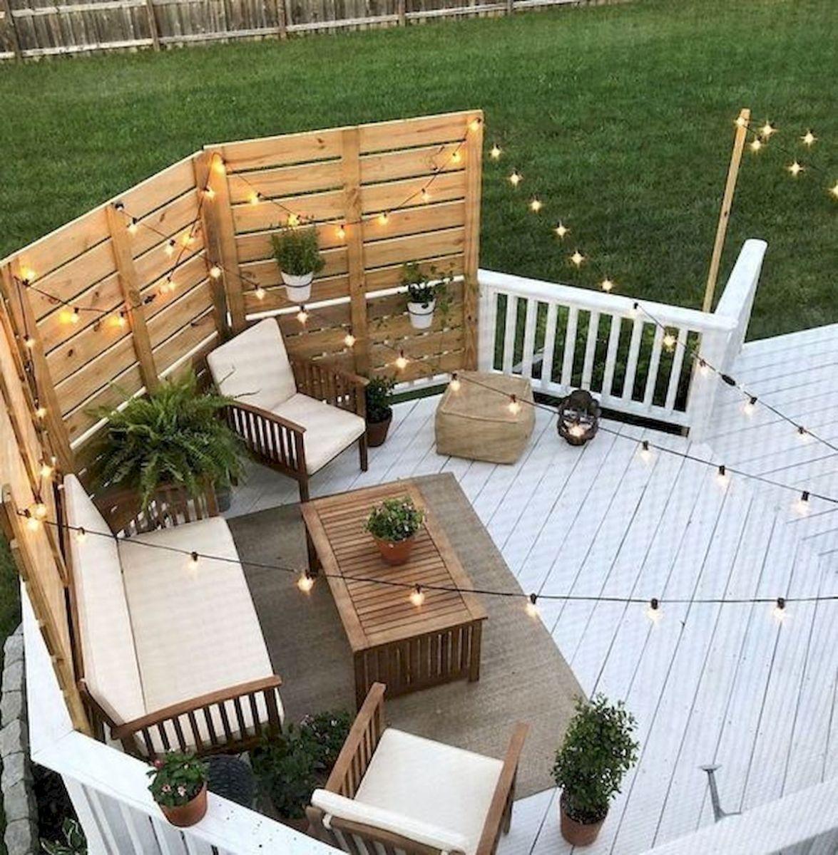 50 Best DIY Backyard Patio and Decking Design Ideas (15)