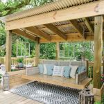 50 Best DIY Backyard Patio And Decking Design Ideas (38)