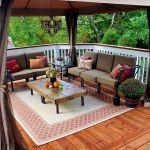 50 Best DIY Backyard Patio And Decking Design Ideas (47)