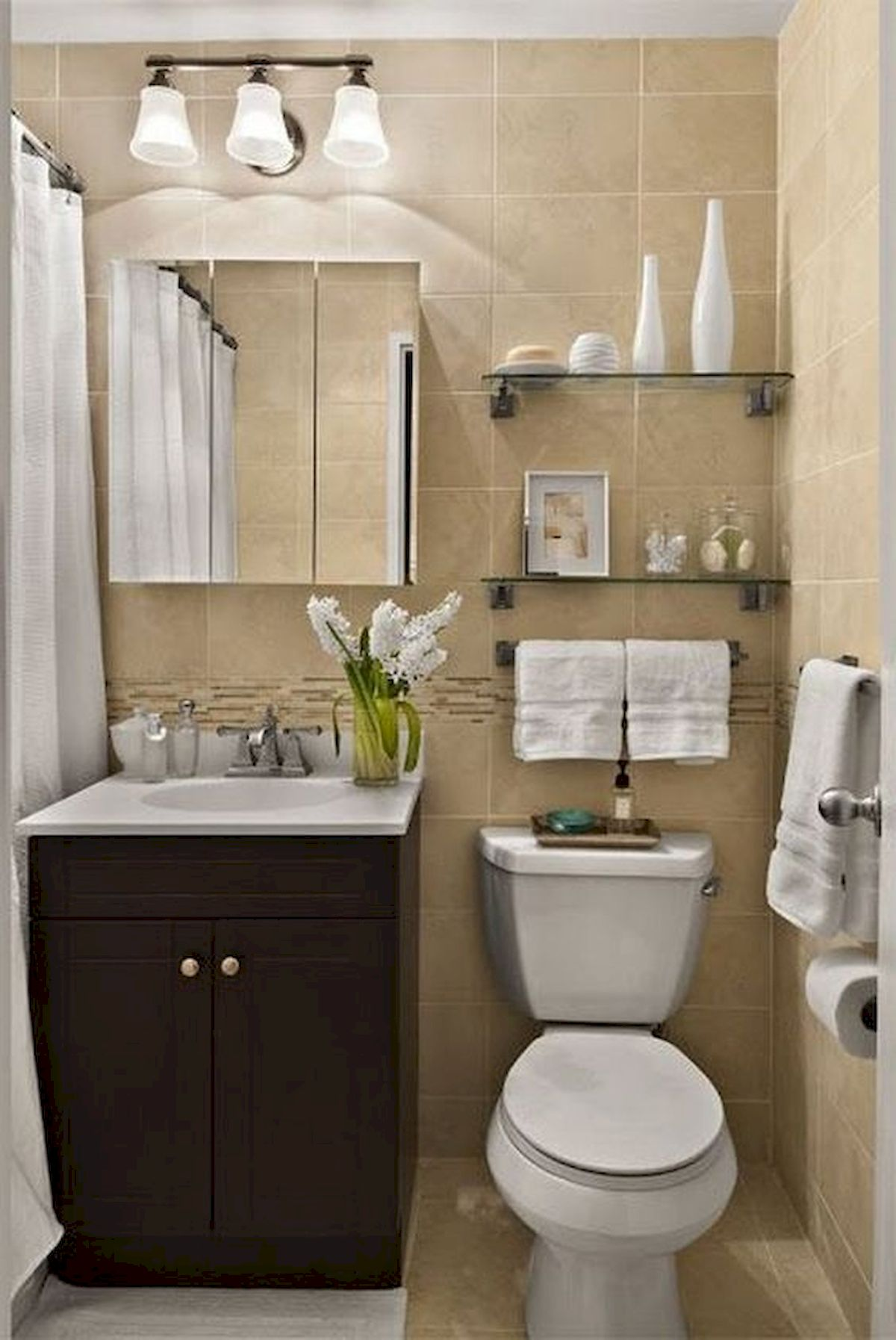 50 Best DIY Storage Design Ideas To Maximize Your Small Bathroom Space (2)