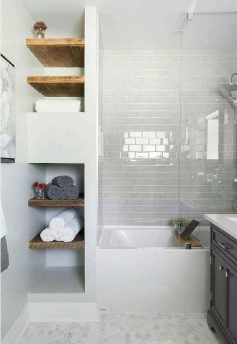 50 Best DIY Storage Design Ideas to Maximize Your Small Bathroom Space (20)