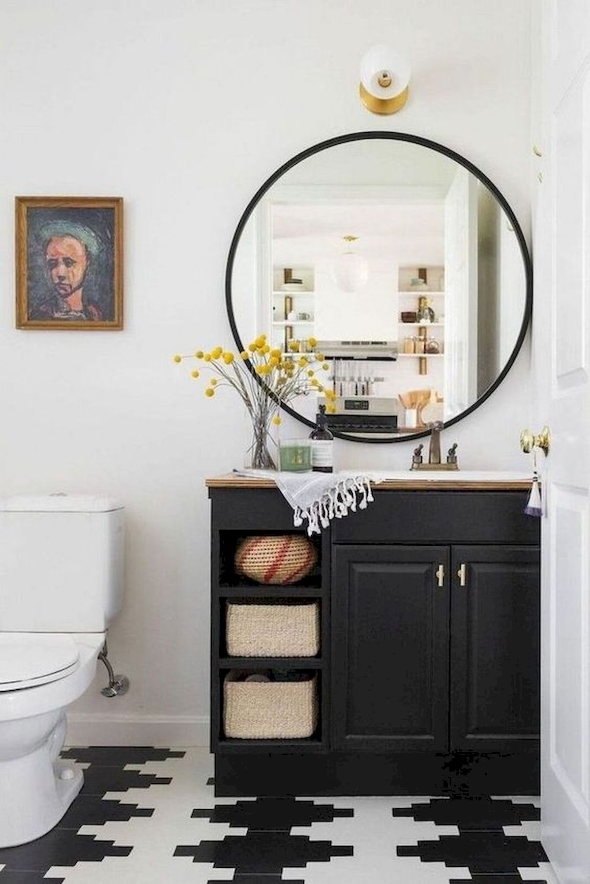 50 Best DIY Storage Design Ideas To Maximize Your Small Bathroom Space (21)