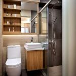 50 Best DIY Storage Design Ideas To Maximize Your Small Bathroom Space (24)