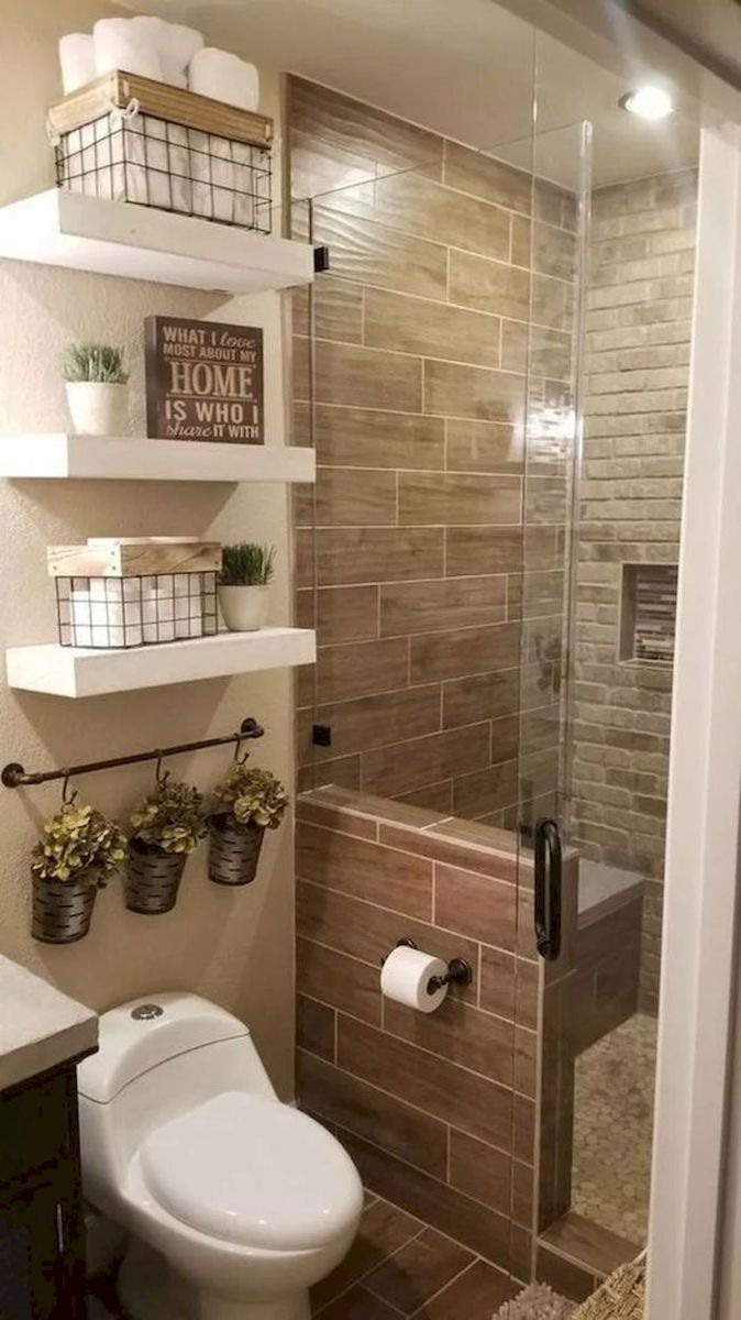 50 Best DIY Storage Design Ideas to Maximize Your Small Bathroom Space (27)