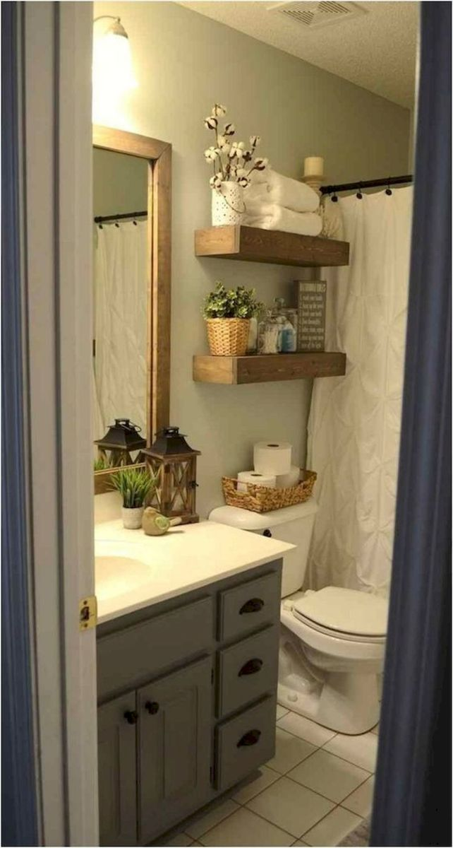 50 Best DIY Storage Design Ideas to Maximize Your Small Bathroom Space (33)