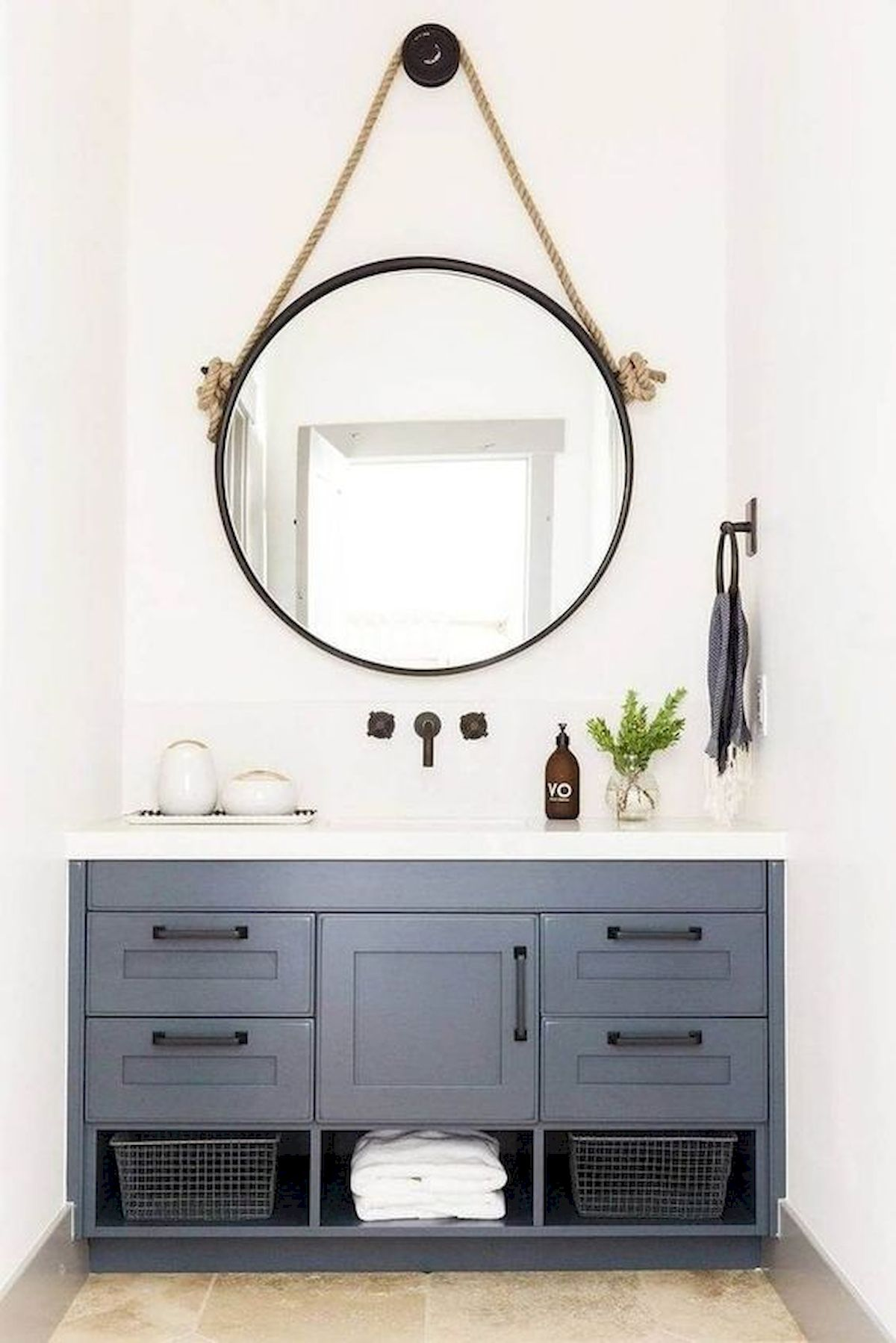 50 Best DIY Storage Design Ideas To Maximize Your Small Bathroom Space (50)