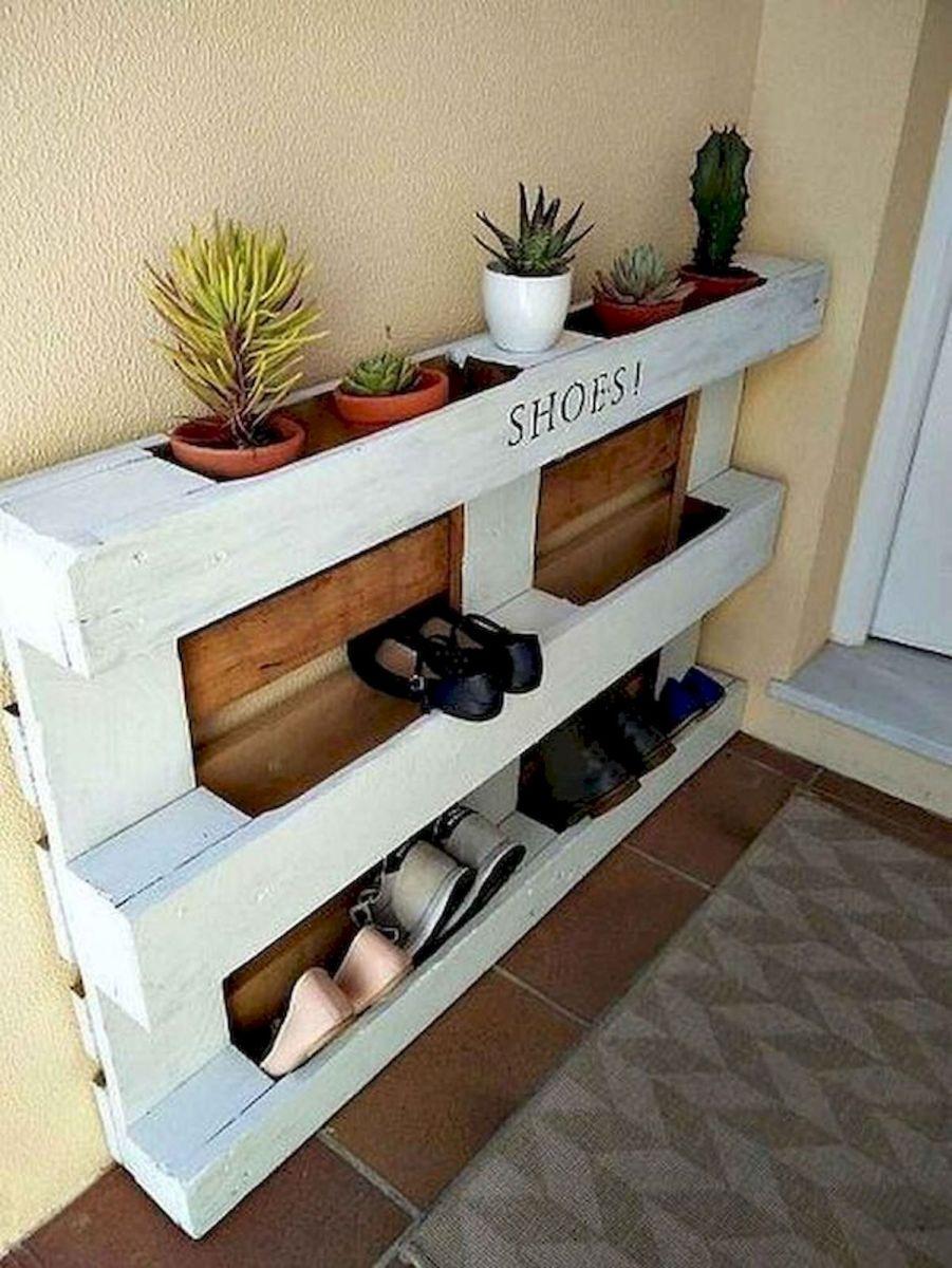 50 Fantastic DIY Shoes Rack Design Ideas (14)