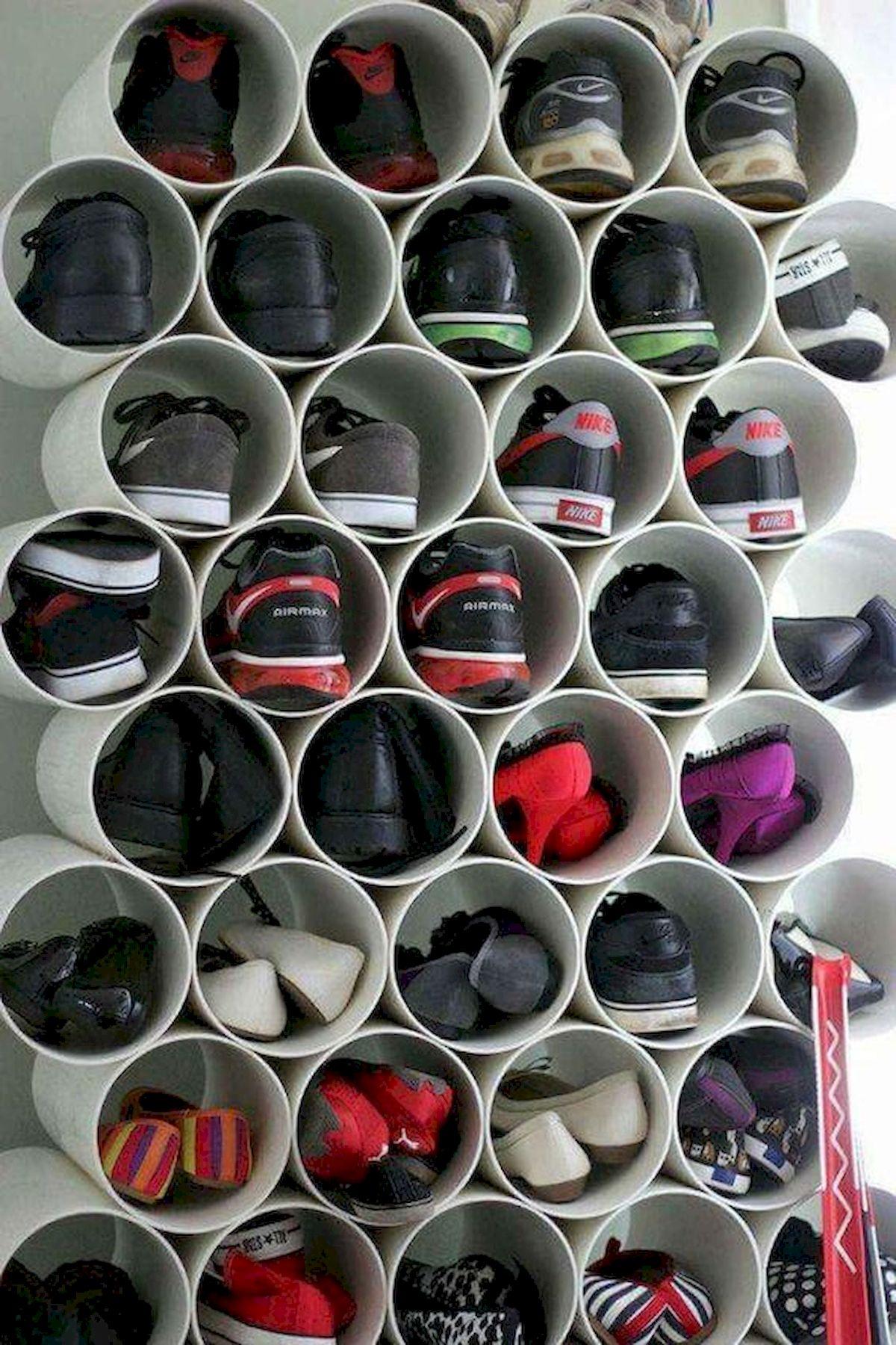 50 Fantastic DIY Shoes Rack Design Ideas (2)