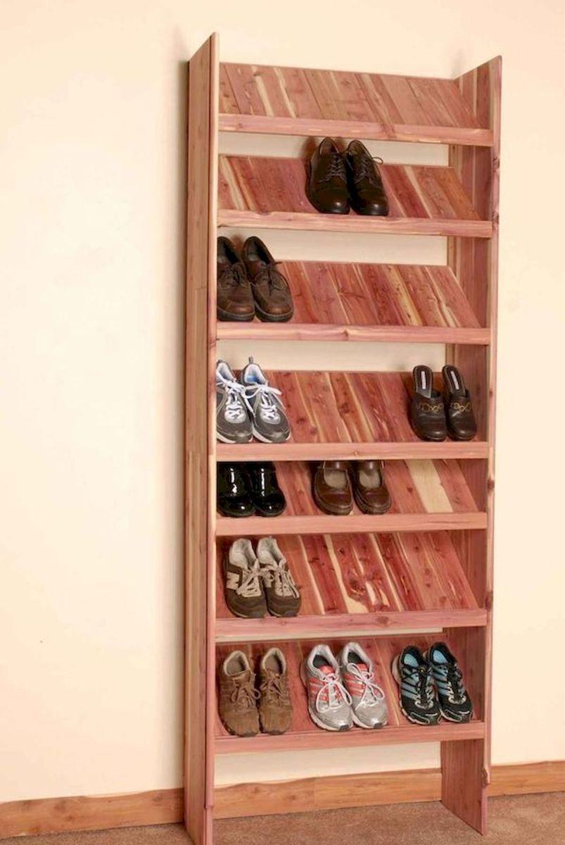 50 Fantastic DIY Shoes Rack Design Ideas (24)