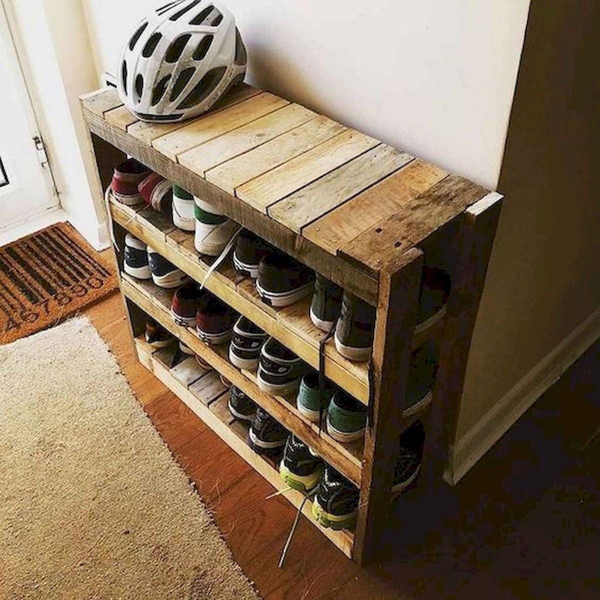 50 Fantastic DIY Shoes Rack Design Ideas (8)