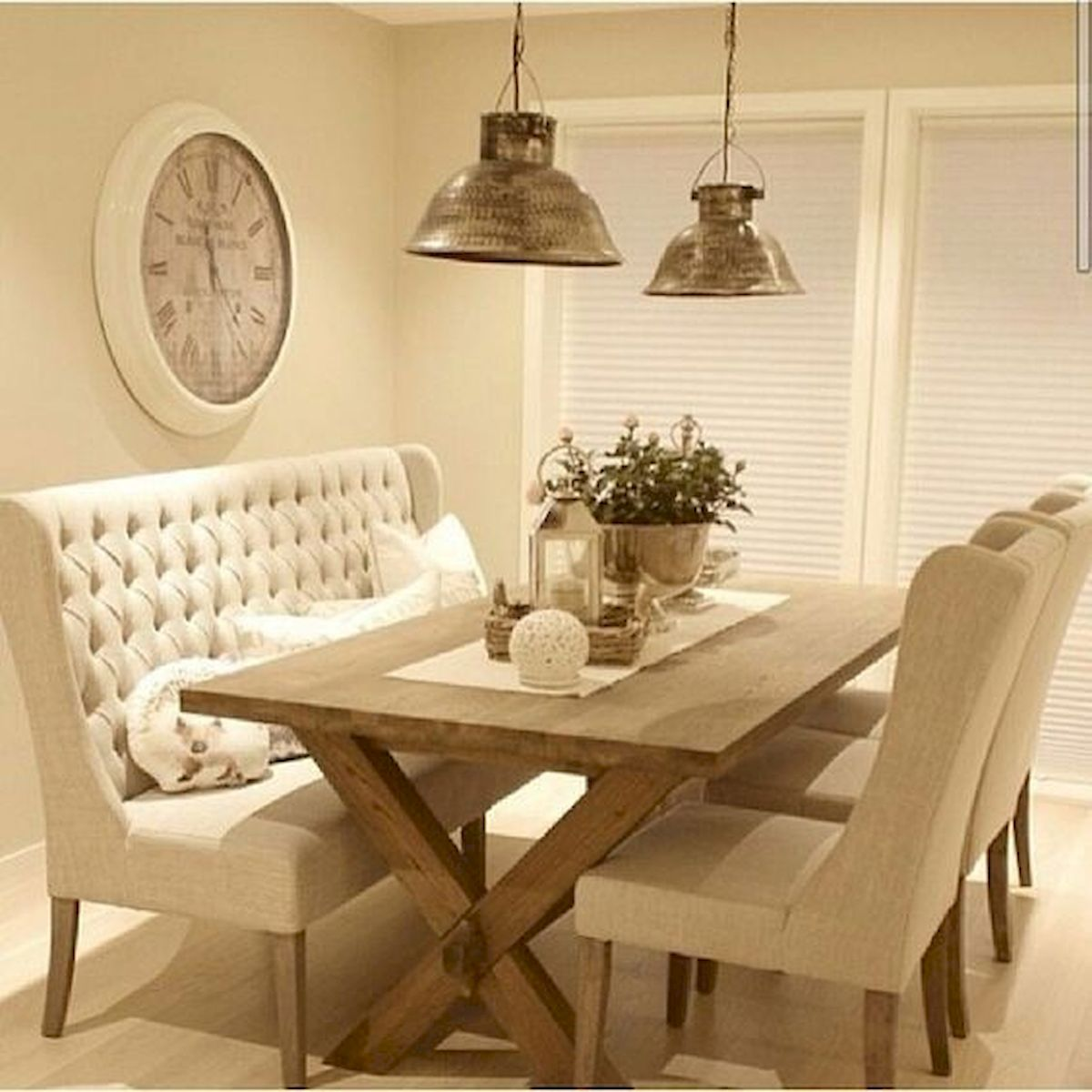 50 Nice DIY Furniture Projects for Dining Rooms Tables Design Ideas (12)