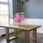 50 Nice DIY Furniture Projects for Dining Rooms Tables Design Ideas (33)