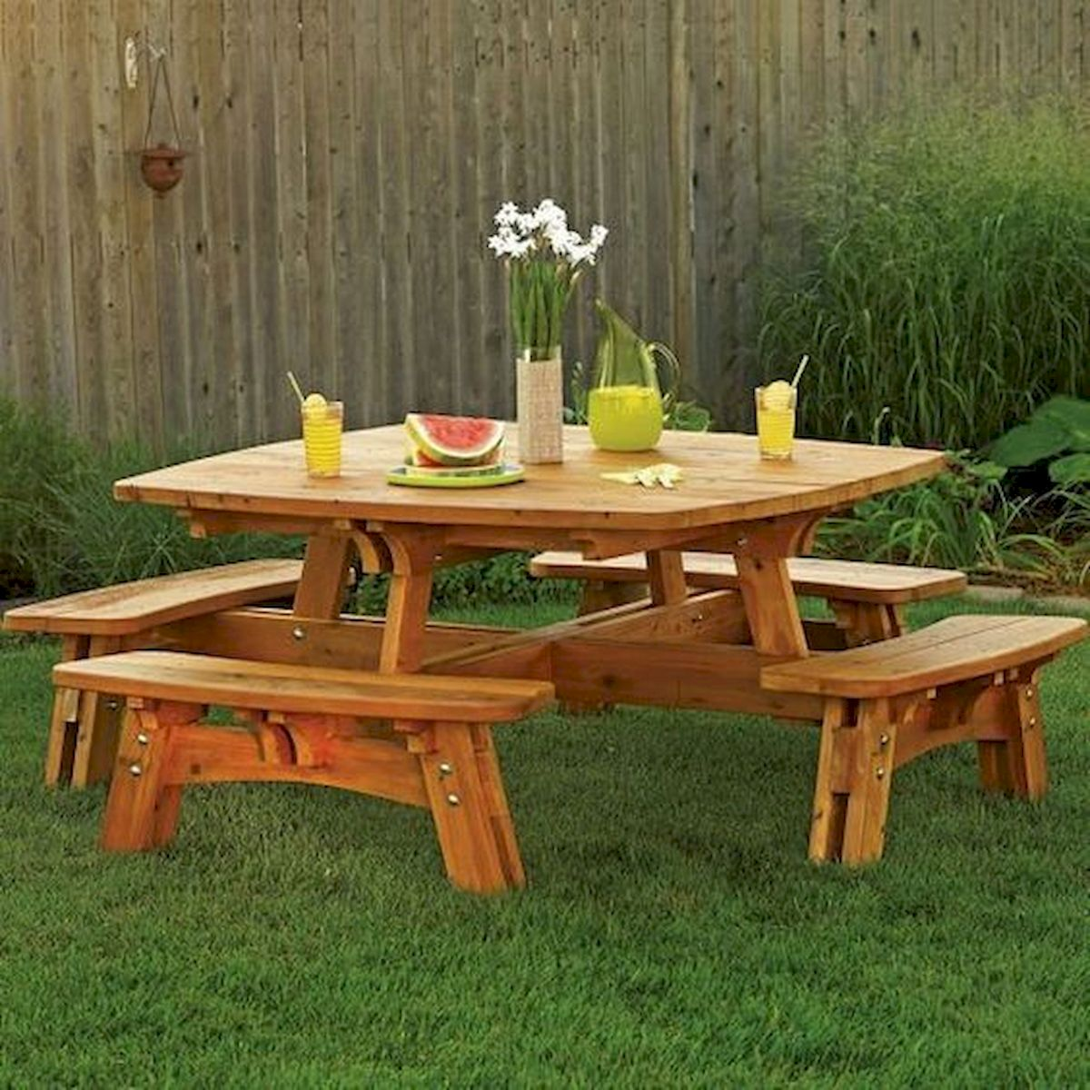 50 Nice DIY Furniture Projects for Dining Rooms Tables Design Ideas (49)