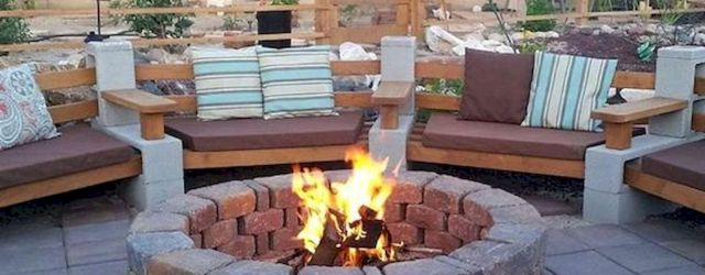 60 Amazing DIY Outdoor and Backyard Fire Pit Ideas On A Budget (58)