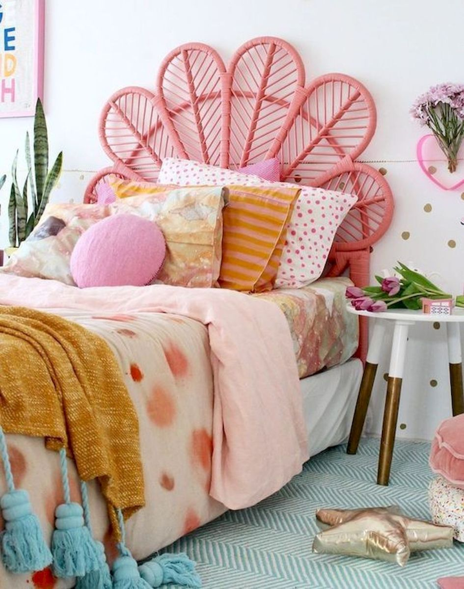 60 Cute DIY Bedroom Design and Decor Ideas for Kids (36)