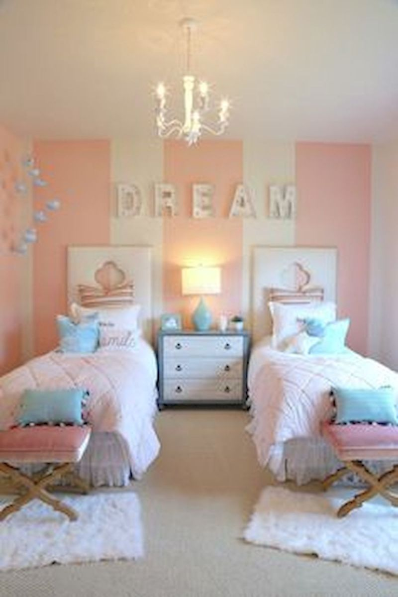 60 Cute DIY Bedroom Design and Decor Ideas for Kids (57)