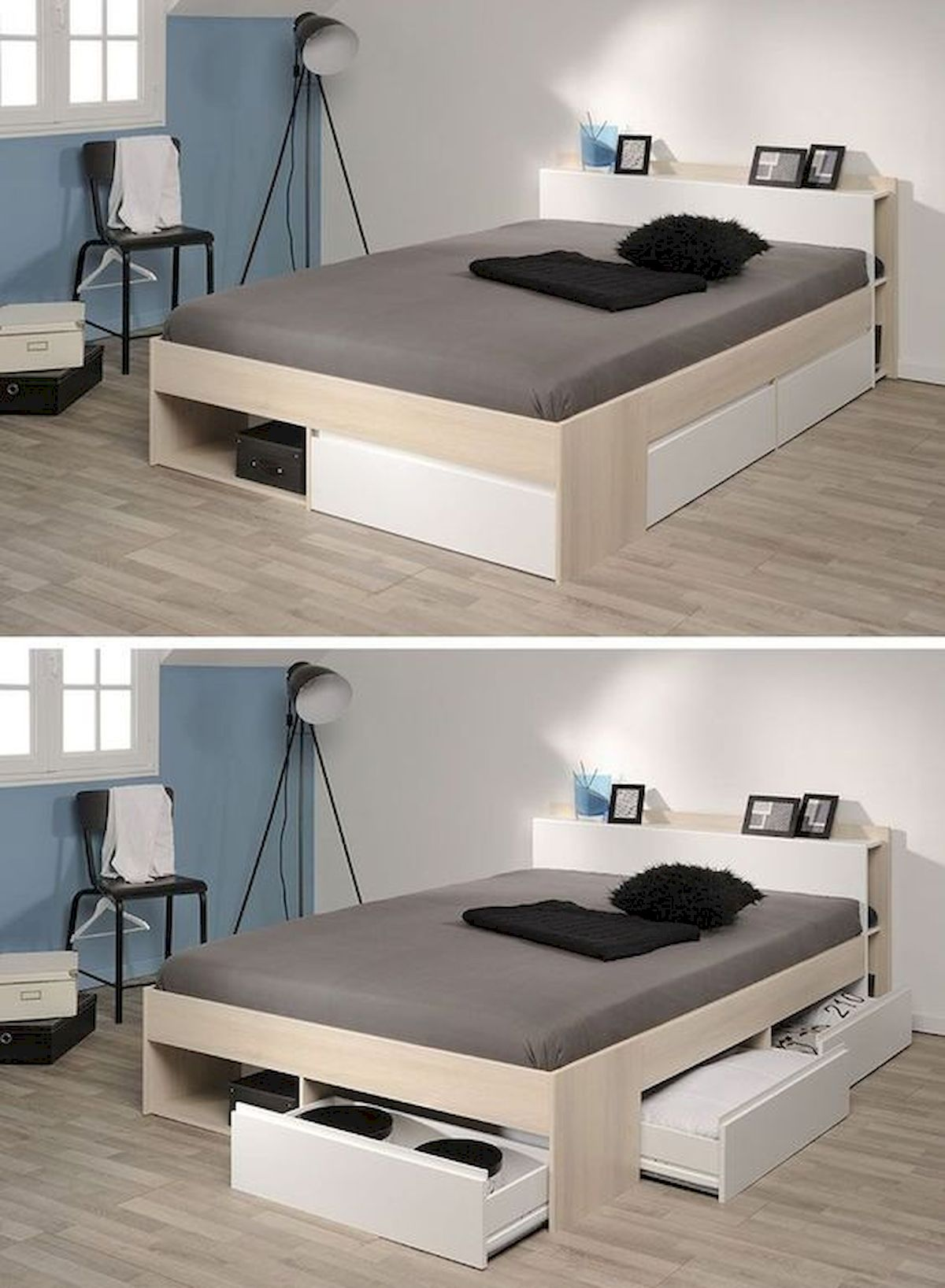 60 Easy And Brilliant DIY Storage Ideas For Small Bedroom (22)