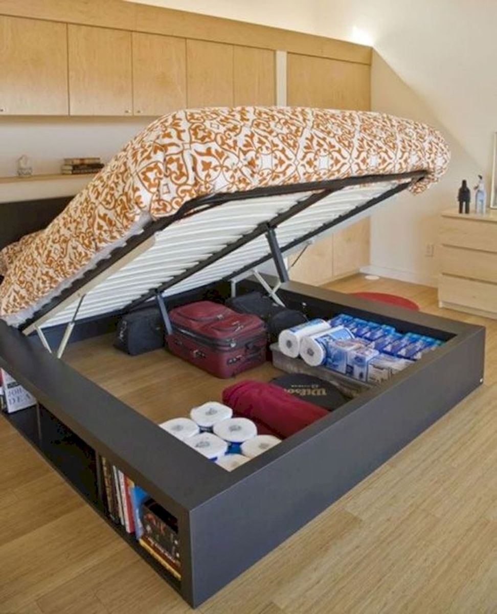 60 Easy and Brilliant DIY Storage Ideas For Small Bedroom (53)