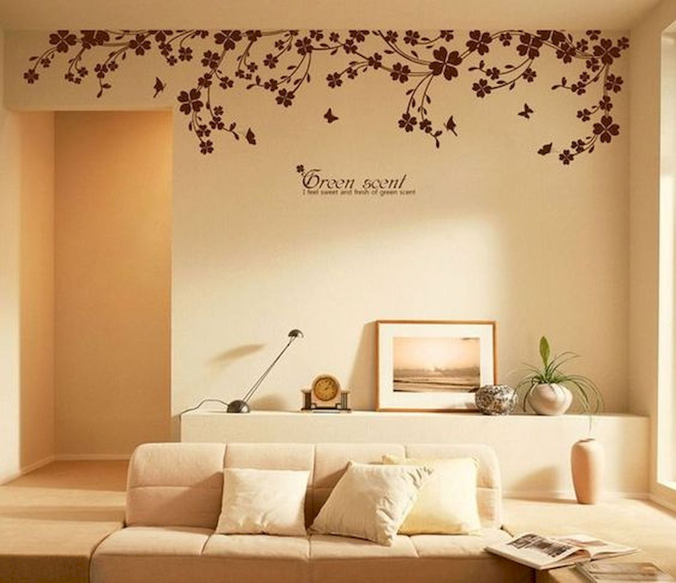 44 Easy But Awesome DIY Wall Painting Ideas To Decorate Your Home (6)