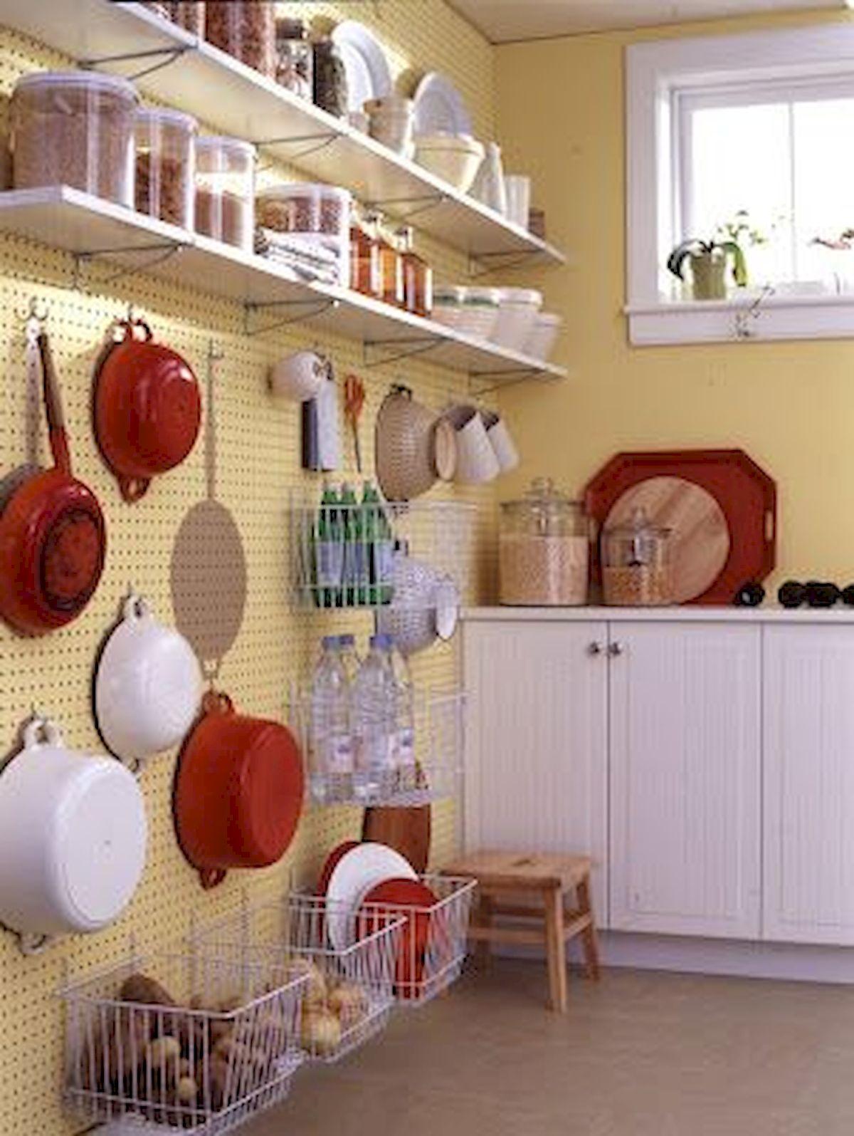 46 Creative DIY Small Kitchen Storage Ideas (30)