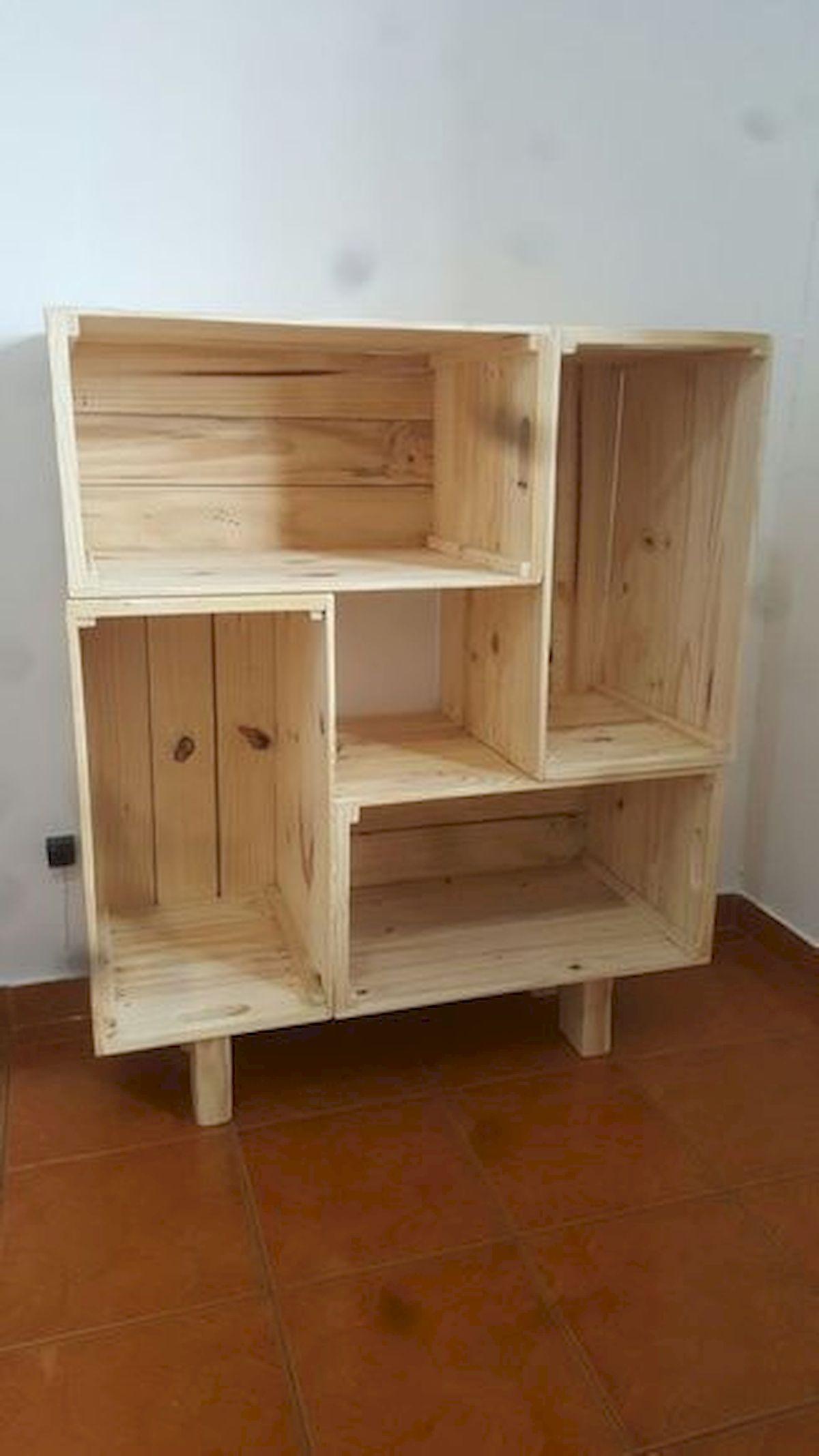 50 Easy DIY Bookshelf Design Ideas (11)