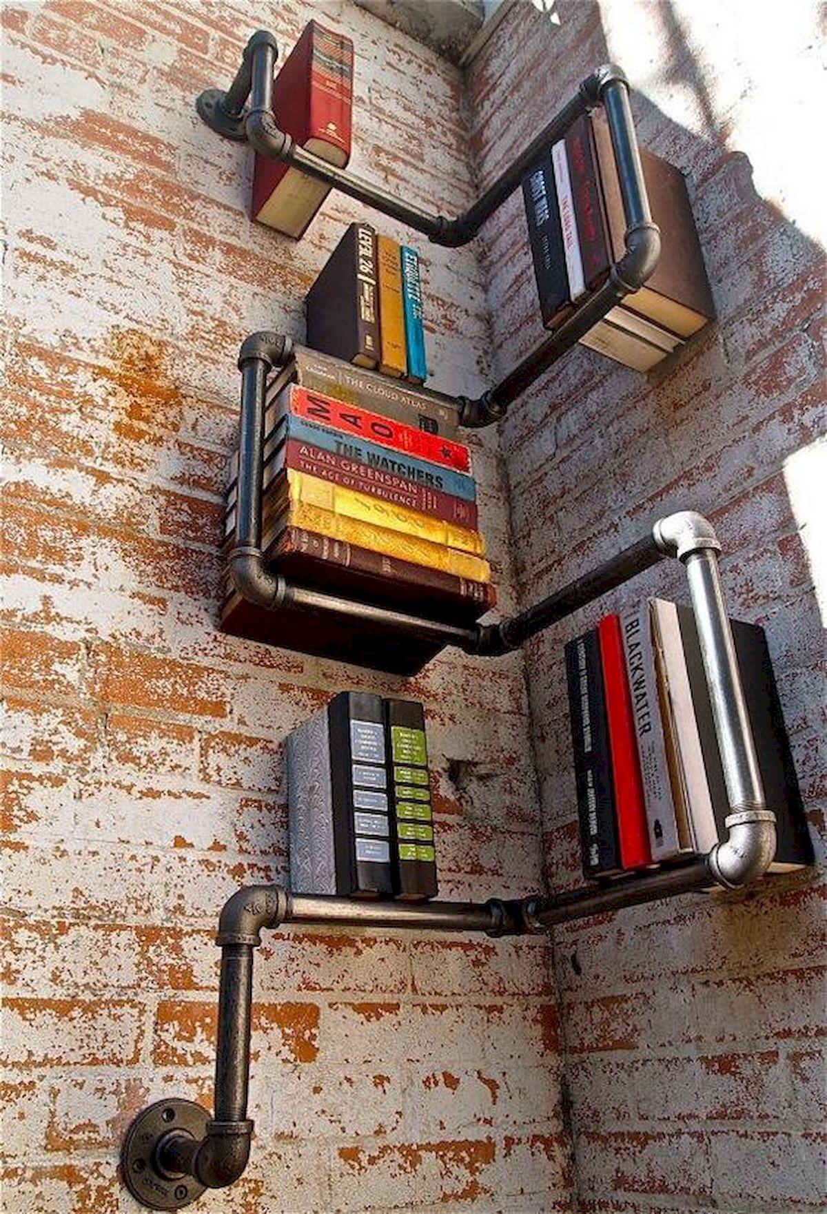 50 Easy DIY Bookshelf Design Ideas (30)