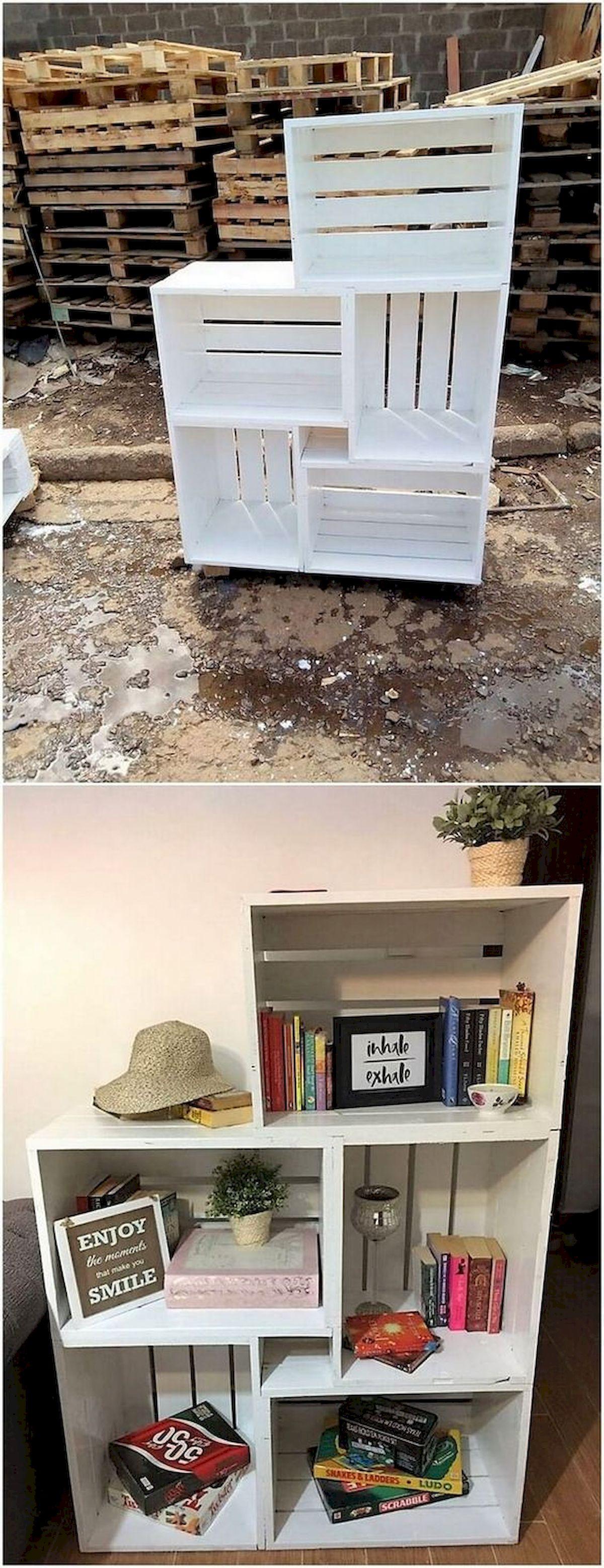 50 Easy DIY Bookshelf Design Ideas (9)