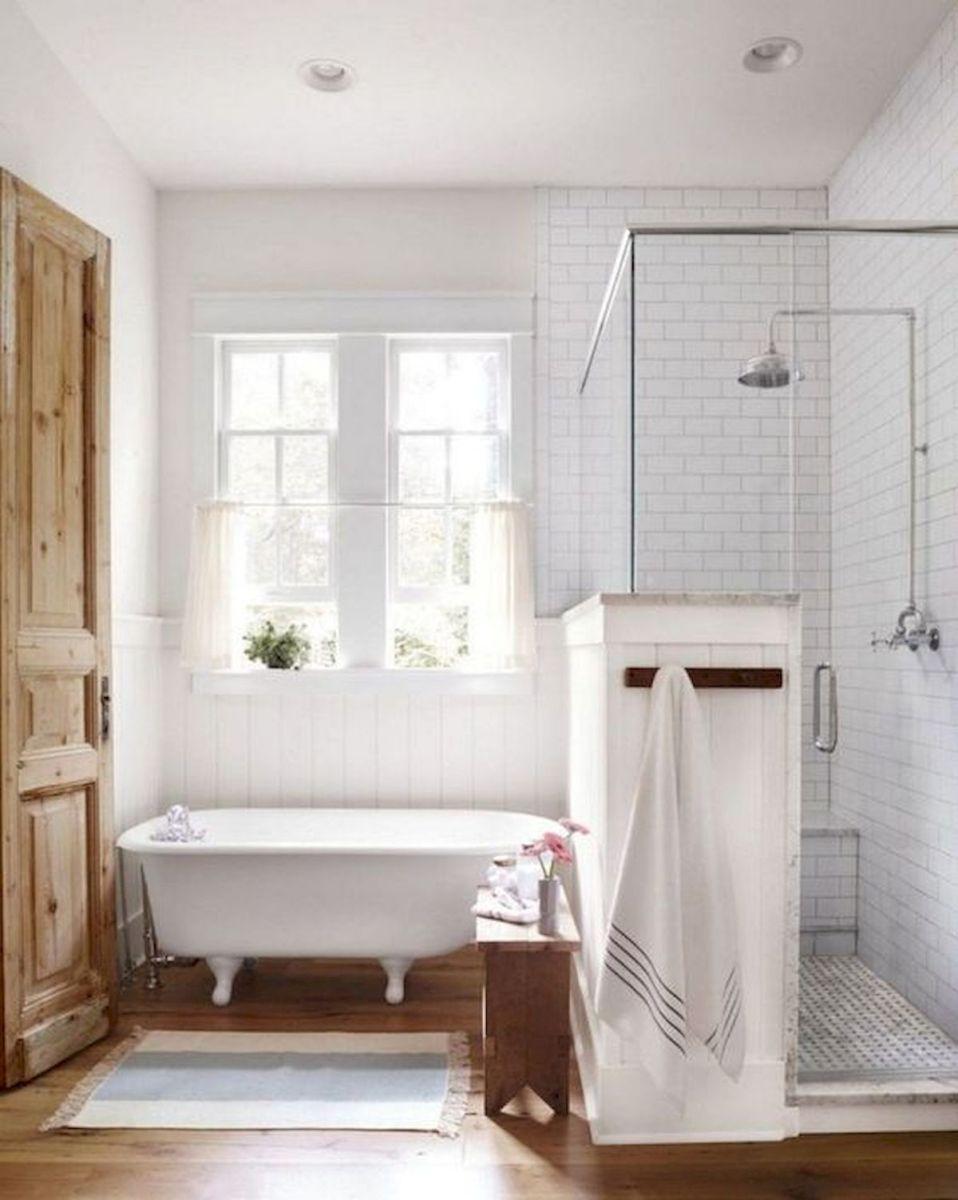 50 Fantastic DIY Modern Farmhouse Bathroom Remodel Ideas (24)