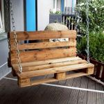 30 Creative DIY Wooden Pallet Swing Chair Ideas (1)