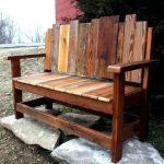 40 Awesome DIY Outdoor Bench Ideas For Backyard And Front Yard Garden (2)