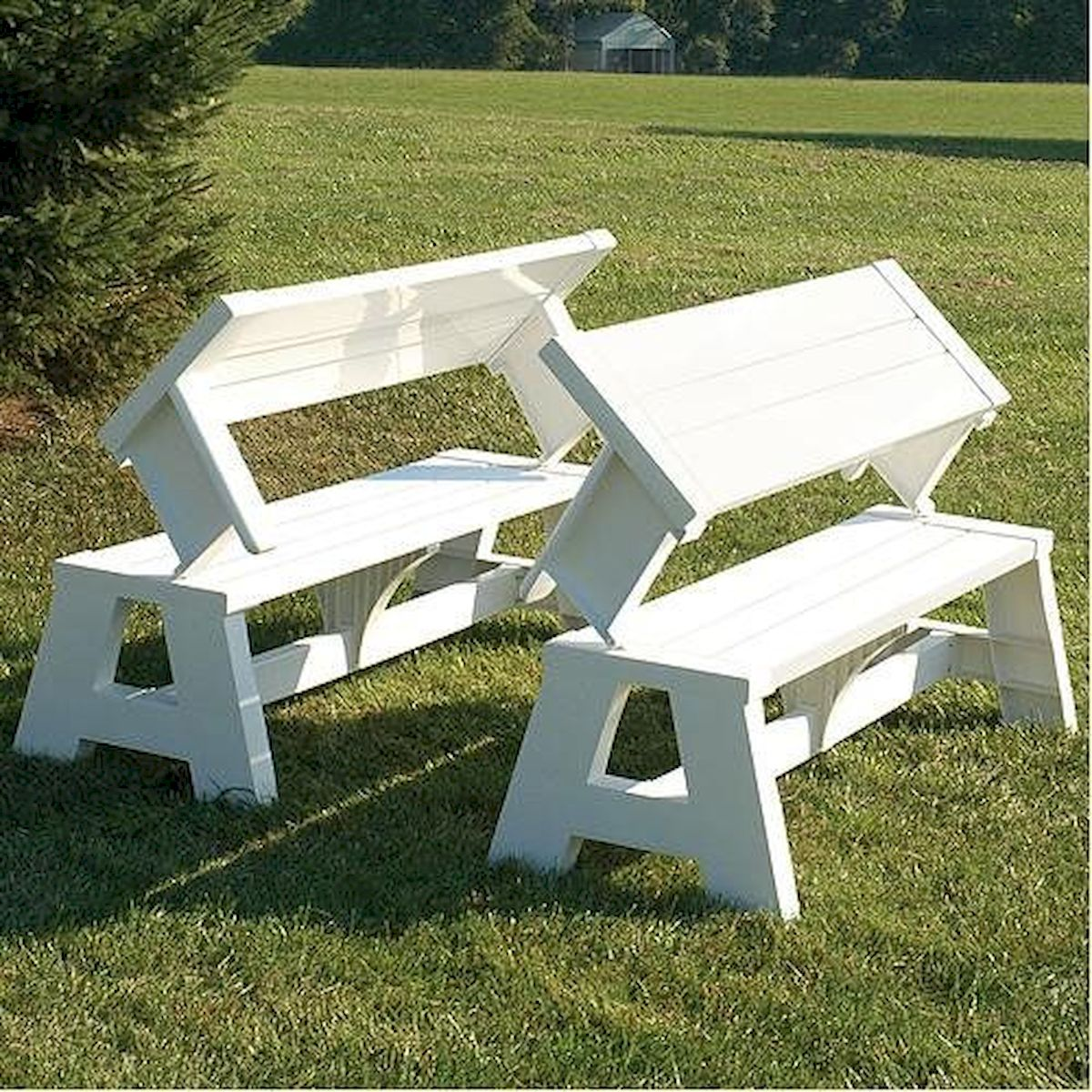 40 Awesome DIY Outdoor Bench Ideas For Backyard and Front Yard Garden (27)