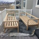 40 Awesome DIY Outdoor Bench Ideas For Backyard and Front Yard Garden (39)