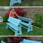40 Awesome DIY Outdoor Bench Ideas For Backyard and Front Yard Garden (8)