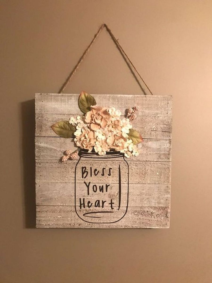 30 Creative DIY Rustic Wall Decor Ideas for Your Home (6)
