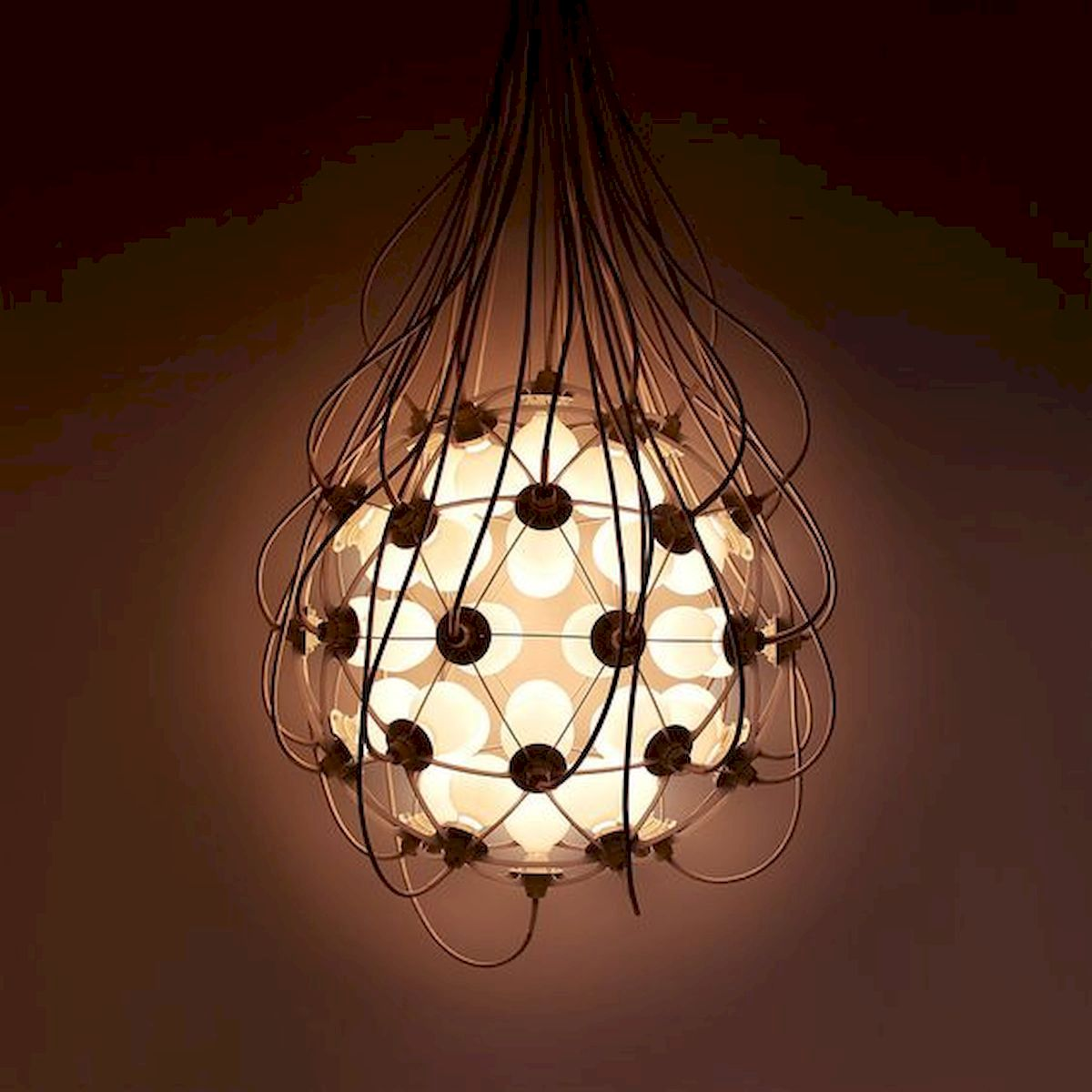 40 Creative DIY Lamps Decoration Ideas for Your Home (11)