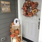 40 Fantastic DIY Fall Front Porch Decorating Ideas (12)