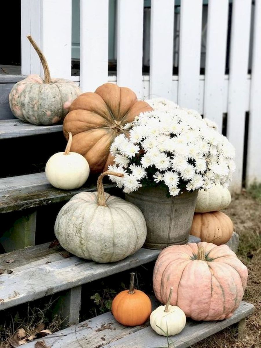 40 Fantastic DIY Fall Front Porch Decorating Ideas (34)