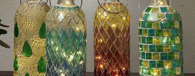 40 Fantastic DIY Wine Bottle Crafts Ideas With Lights (1)
