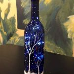 40 Fantastic DIY Wine Bottle Crafts Ideas With Lights (23)