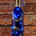 40 Fantastic DIY Wine Bottle Crafts Ideas With Lights (39)