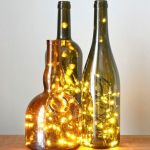 40 Fantastic DIY Wine Bottle Crafts Ideas With Lights (4)