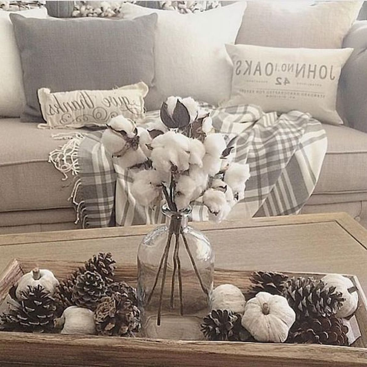40 Gorgeous DIY Fall Decoration Ideas For Living Room (26)