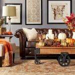 40 Gorgeous DIY Fall Decoration Ideas For Living Room (34)