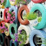 25 Creative DIY Garden Decoration Ideas Using Old Tires (1)