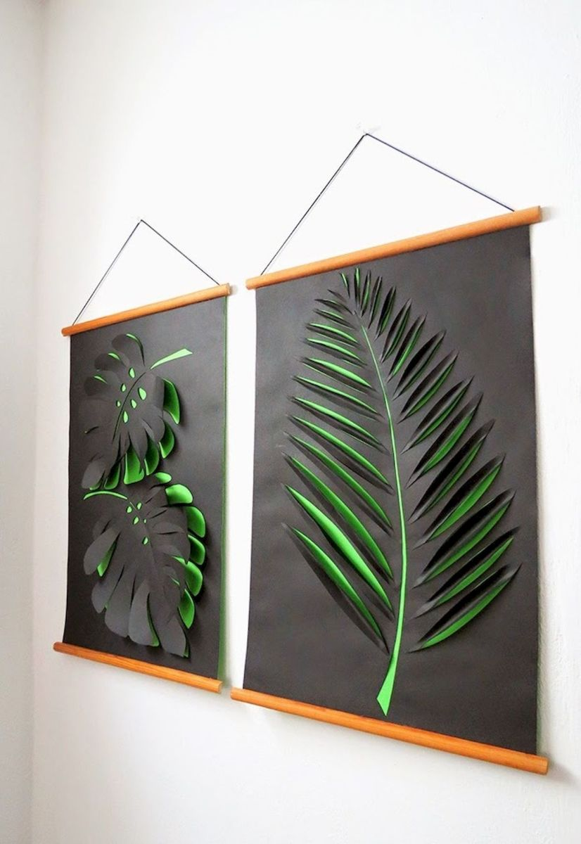 30 Easy and Creative DIY Wall Art Ideas For Decoration (1)