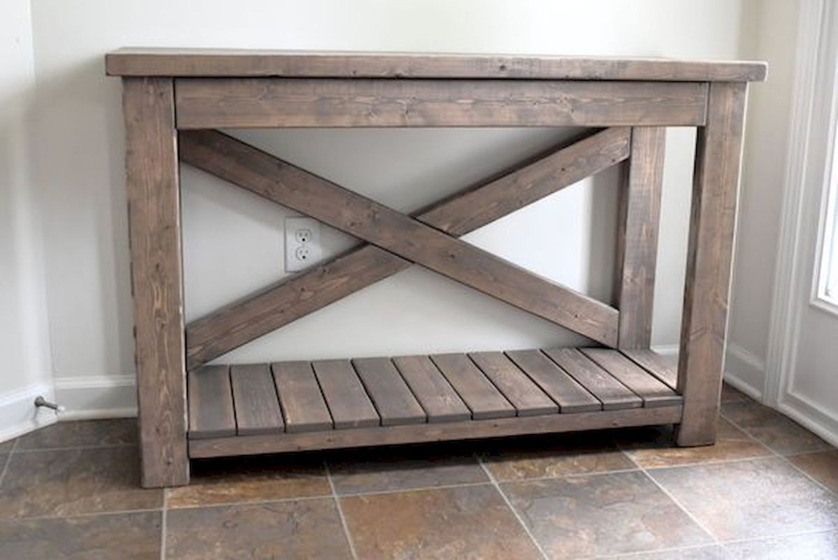 45 Easy and Cheap DIY Wood Furniture Ideas for Small House (36)
