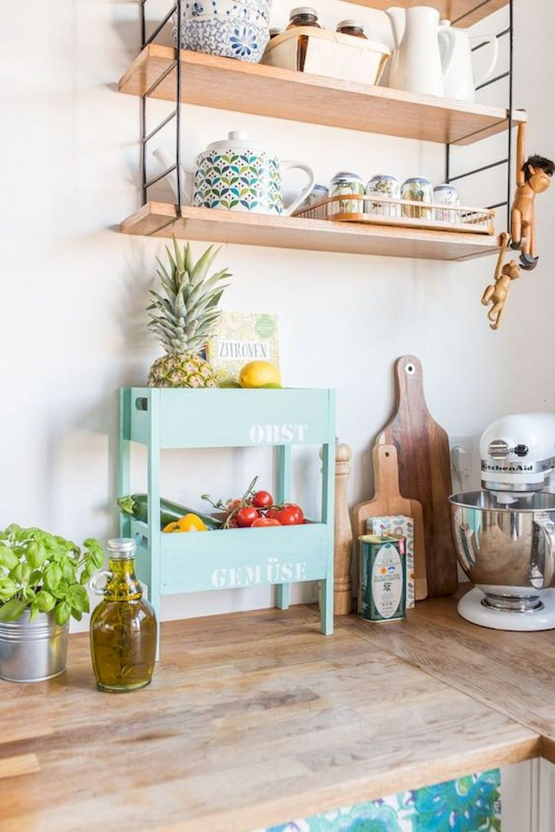 30 Creative DIY Kitchen Storage Ideas for Fruit and Vegetable (3)
