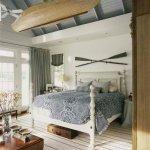 20 Beautiful Coastal Farmhouse Bedroom Decor Ideas and Remodel (4)