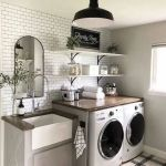 20 Beautiful Farmhouse Laundry Room Decor Ideas and Remodel (17)