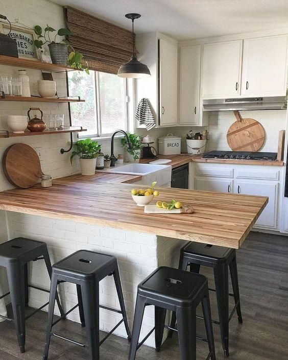 20 Beautiful Modern Farmhouse Kitchens Decor Ideas and Remodel (12)